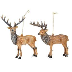 Gisela Graham Christmas Reindeer Decorations
