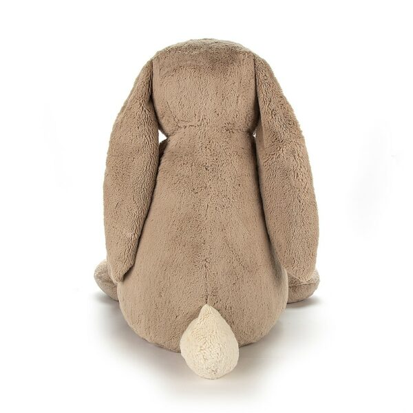 Jellycat Bunny - Bashful Beige Bunny back view