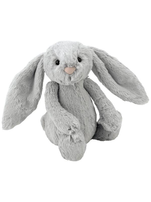 Jellycat Bunny - Bashful Silver Bunny small size