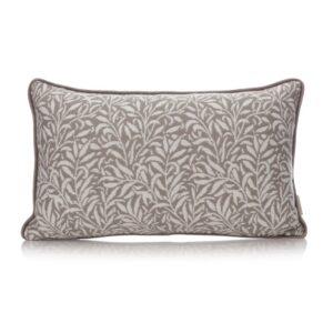 William Morris Cushion - Grey Willow Pattern Cushion