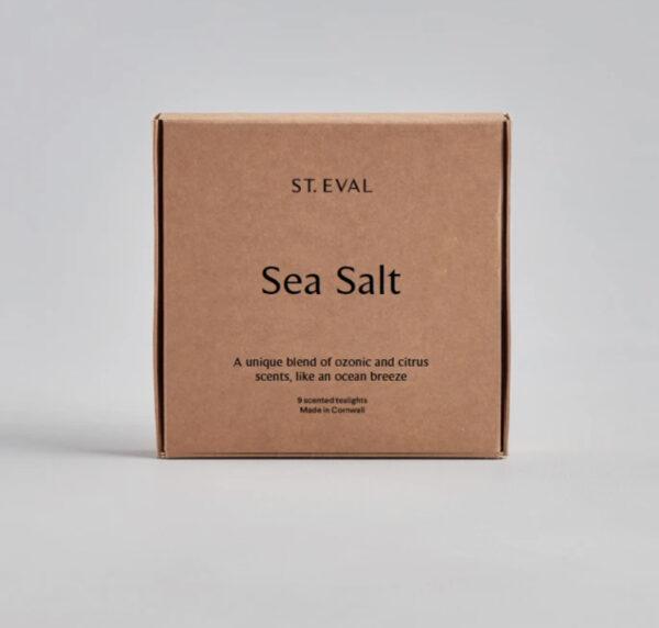 St Eval Sea Salt Scented Tealights