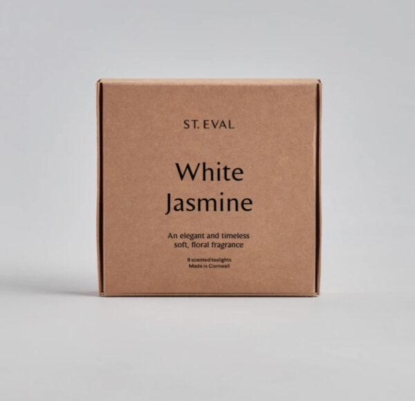 St Eval White Jasmine Scented Tealights