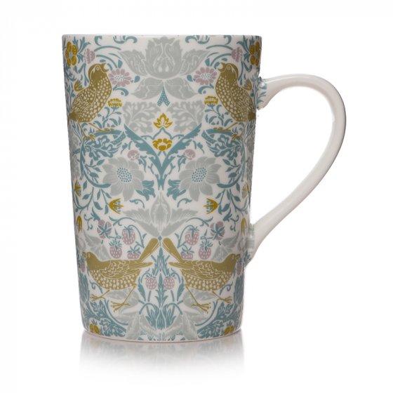 William Morris Gift - Blue Strawberry Thief Mug