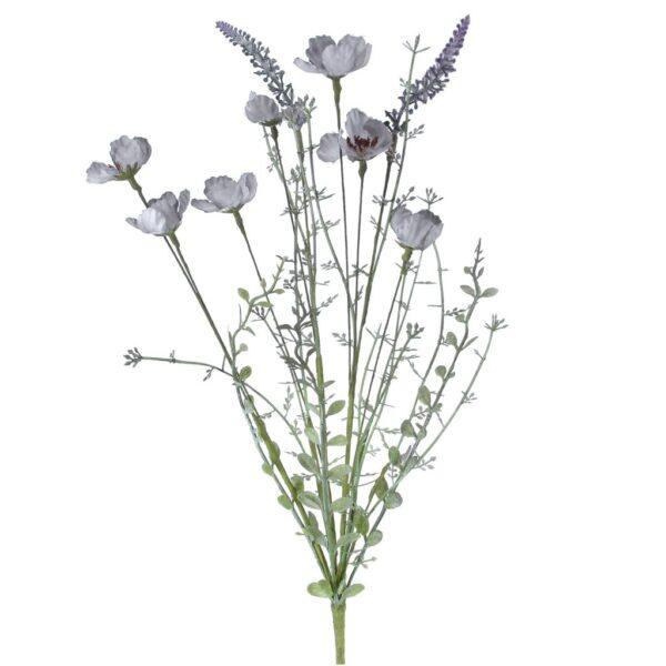Gisela Graham - blue wild rose spray