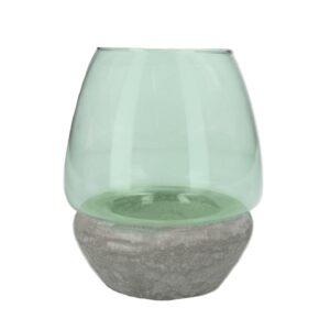 Gisela Graham - green glass night light