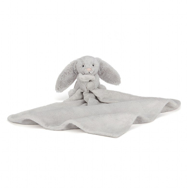 Jellycat Soother - Bashful silver bunny soother