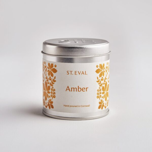 St Eval Amber Scented Candle