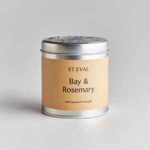 St Eval Bay & Rosemary Scented Candle